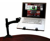Gator Cases G-ARM 360-DESKMT 360 Degree Articulating DJARM - DJ & Recording Laptop / iPad / T...