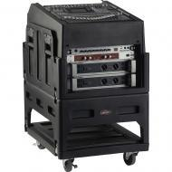 SKB Cases 1SKB19-R1406 The Mighty GigRig Rolling Mixer Rack System with Caster Wheels (1SKB19R1406)
