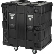 "SKB Cases 3SKB-R916U24 16U Roto 24"" Deep Shock Mount Rack Case w/ Rails Casters & Latche..."