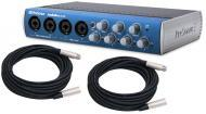PreSonus AudioBox 44VSL Pro Audio 4CH USB 2.0 Computer Recording System with $50 XLR Cables &...