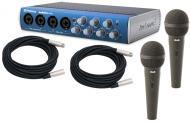 PreSonus AudioBox 44VSL Pro Audio 4CH USB 2.0 Computer Recording System with $80 CAD Mics & $...