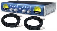 PreSonus Blue Tube DP v2 Pro Audio 2CH Instrument or Mic Pre Amp Amplifier with $50 XLR Cables