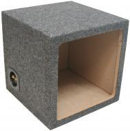 "Sub Boxes Square Single 12"" Subwoofer Unloaded Enclosure Box"