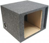 "Car Audio Subwoofer Single L7 L5 12"" Vented Square Enclosure"