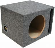 "Car Audio Single 12"" Vented Subwoofer Stereo Sub Box Ported Enclosure 3/4"" MDF"