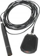 Galaxy Audio BN-218B Cardioid Condenser Boundary Microphone with 16 ft. Cable - Black