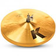 "Zildjian K0812 14"" K Series Light HiHats in Pair Drumset Cymbals with Dark Sound & Low P..."