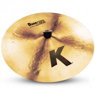 "Zildjian K0905 19"" K Zildjian Series Dark Crash Thin Drumset Cast Bronze Cymbal with Low Pitch"