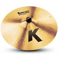 "Zildjian K0915 18"" K Zildjian Series Dark Crash Medium Thin Drumset Cast Bronze Cymbal with ..."