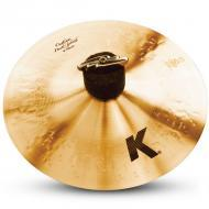 "Zildjian K0930 8"" K Custom Series Dark Splash Paper Thin Drumset Cast Bronze Cymbal with Mid..."