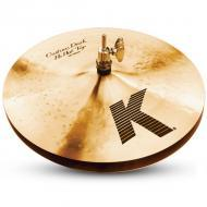"Zildjian K0940 13"" K Custom Series Dark Hi Hat Pair Drumset Cast Bronze Cymbals with Low to ..."