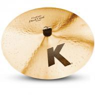 "Zildjian K0952 17"" K Custom Series Dark Crash Thin Drumset Cast Bronze Cymbal with Low to Mi..."