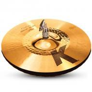 "Zildjian K1213 13 1/4"" K Custom Series Hybrid Hi Hat Pair Drumset Cast Bronze Cymbals with S..."
