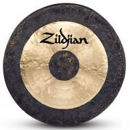 "Zildjian P0501 34"" Hand Hammered Gong Made In China - Traditional Finish"