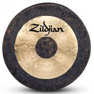 "Zildjian P0502 40"" Hand Hammered Gong Made In China - Traditional Finish"
