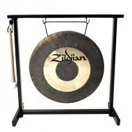 "Zildjian P0565 12"" Traditional Gong And Stand Set Table Top"