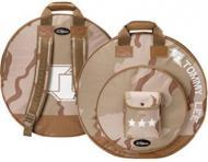 Zildjian TOMCB Tommy Lee Signature Cymbal Bag with heavy-duty handle and backpack straps camoufla...