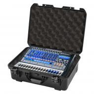 Gator Cases GMIX-PRESON1602-WP Black waterproof injection molded case with foam insert custom fit...