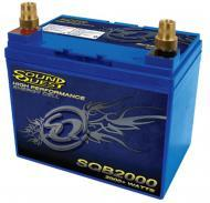 Sound Quest by Stinger SQB2000 Car or Marine Audio Deep Cycle 2000 Watt 525CCA Battery