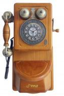 Pyle Home PRT45 Retro Themed Coutry-Style American Heritage Wall Mount Telephone