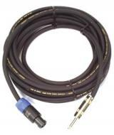 """Peavey 12-gauge Neutrik To 1/4 Inch Cable with 1/4"""" Switchcraft Plug (492170)"""