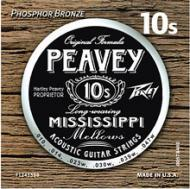 Peavey Phosphor Bronze-Wound Balanced 10s Set Acoustic Guitar String (578460)