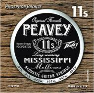 Peavey Phosphor Bronze-Wound Balanced 11s Pack Acoustic Guitar String (578490)
