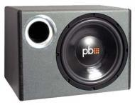 Powerbass PS-WB112 Single 12-Inch 275/550W RMS/Peak Loaded Bass Reflex Enclosure