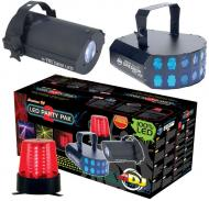 On Sale American DJ LED744 Led Party Pak 2 LED Light Package W/ Plug & Play Effects Limited Q...