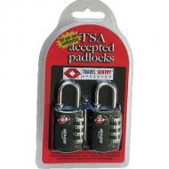 SKB Cases 1SKB-PDL 2-Pack TSA Accepted Combination Padlocks (1SKBPDL)