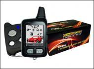 Crimestopper SP-501 2-Way Combo Alarm & Remote Start System w/ Rechargeable LCD Pager