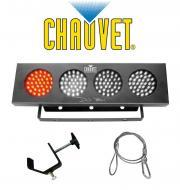 Chauvet Lighting DJ BANK Multi Color LED Chase Effect Light with Mounting Clamp & Safety Cabl...