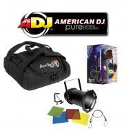 American DJ Lighting 56 BLACK COMBO Par Can Stage Light with Arriba AC-50 Accessory Bag