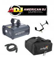 American DJ Lighting Atmospheric RG LED Red, Green & Blue Laser Effect Light with DMX Cable, ...