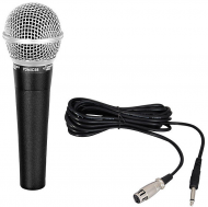 Pyle PDMIC58 Professional Moving Coil Dynamic Handheld Microphone