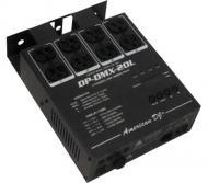 On Sale American DJ DP-DMX20L 4 Channel DMX Dimmer / Switch Pack 600W Per Channel Limited Quantities