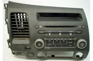 2006-2009 Honda Civic LX GX Sedan Factory Receiver AM/FM Radio CD MP3 Player
