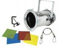 American DJ 46 COMBO Par 46 Can Lighting Package (Polished) (Clamps + Safety Cable Included)