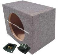 "Single 10"" Subwoofer Rear Fire Unloaded Enclosure"