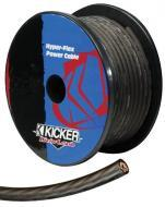 Kicker Car Audio PWG050 Power Wire Cable 0 Ga. Heat-Resistance with Gray Hyper-Flex Jacket