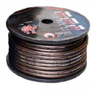RE Audio REC-8G Premium Hyper Flex 8 Gauge 250 Feet Brown Ground Wire (REC8G)