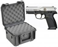 SKB 3I-0907-6B-L Waterproof Plastic Gun Case for FNH USA FNP-357 Semi-Auto .357 SIG Handgun Pistol