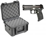 SKB 3I-0907-6B-L Waterproof Plastic Gun Case for FNH USA Forty-Nine Semi-Auto .40 S&W 9mm Han...