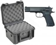 SKB 3I-0907-6B-L Waterproof Plastic Gun Case for EAA Corp Semi-Auto Handgun Pistol
