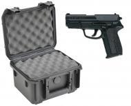 SKB 3I-0907-6B-L Waterproof Plastic Molded Gun Case for Sig Sauer SP2340 Semi-Auto .40 S&W .3...