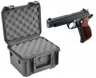 SKB 3I-0907-6B-L Waterproof Plastic Molded Gun Case for Sig Sauer P210 Semi-Auto 9mm 7.65mm Handgun