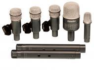 Superlux DRK-B5C2MKII 7-Piece Drum Microphone Kit with Foam-Lined Carrying Case