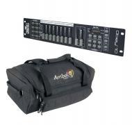 Chauvet DJ Lighting Obey 10 Compact 16 Channel DMX Light Controller with Arriba Travel Bag