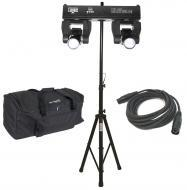Chauvet DJ Lighting Intimidator Spot Duo Moving Spot Dual Head Light with Tripod Stand, DMX Cable...