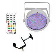 Chauvet DJ Lighting EZpar 64 RGBA White Battery Powered Slim Can LED Light with IRC Wireless Remo...